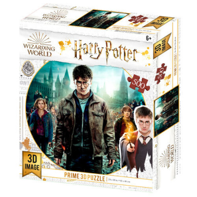 Harry Potter: Harry Hermione and Ron Prime 3D puzzle 500pcs PUZZEL