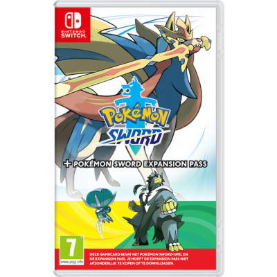 Foto van Pokemon Sword + Expansion Pass SWITCH