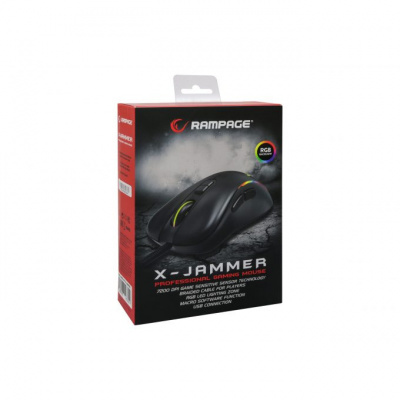 Rampage X-Jammer SMX-R47 Gaming Mouse (Black) PC