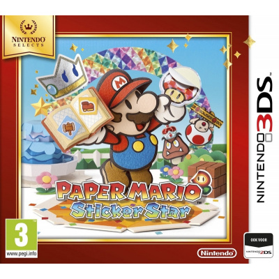 Foto van Paper Mario Sticker Star (Selects) 3DS