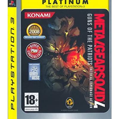 Foto van Metal Gear Solid 4 (Platinum) PS3