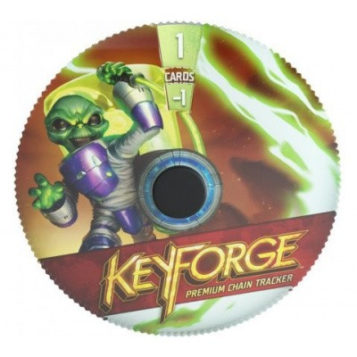 TCG Keyforge Premium Chain Tracker Mars KEYFORGE