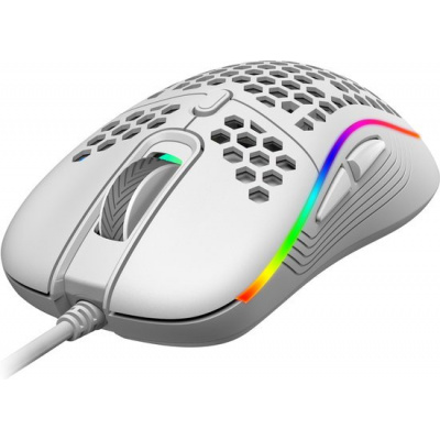 Foto van Rampage Gentle SMX-R85 Gaming Mouse (White) PC
