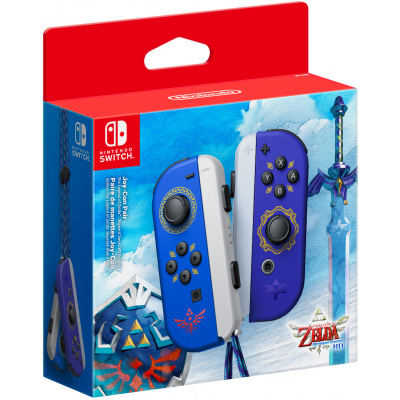 Foto van Joy-Con Controllers Paar (The Legend of Zelda: Skyward Sword HD Edition) SWITCH
