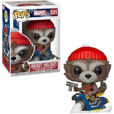 Pop! Marvel: Rocket (Holiday) FUNKO