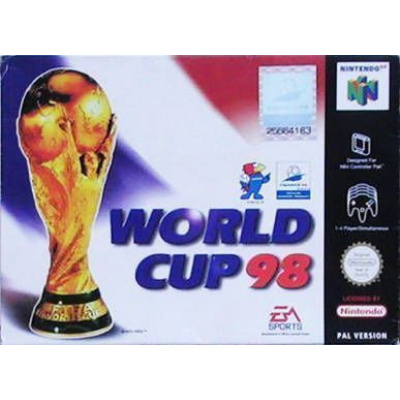 Foto van World Cup 98 N64