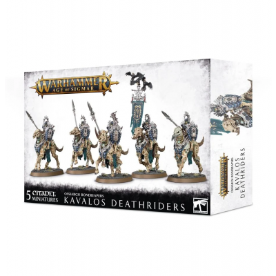 Foto van Ossiarch Bonereapers Kavalos Deathriders WARHAMMER AOS