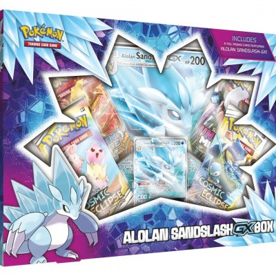 Foto van TCG Pokémon Alolan Sandslash-GX Box POKEMON