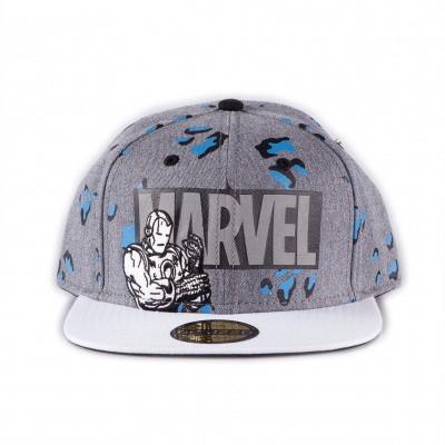 Marvel - Logo AOP Snapback MERCHANDISE