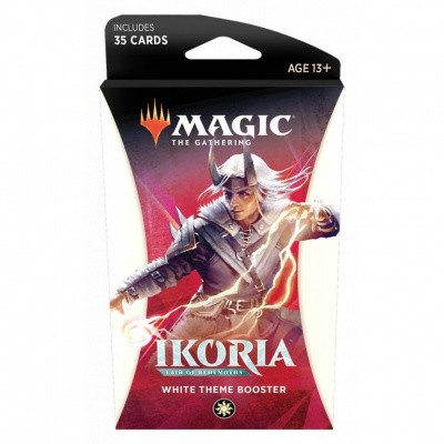 TCG Magic The Gathering Ikoria Lair Of Behemoths White Theme Booster MAGIC THE GATHERING