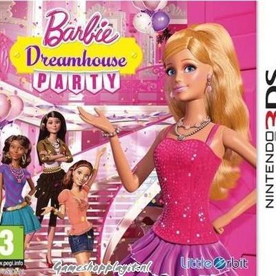 Foto van Barbie Dreamhouse Party 3DS