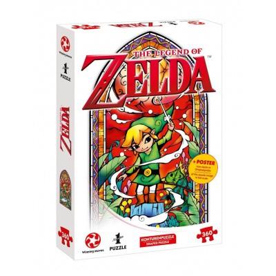 Foto van The Legend Of Zelda Link Wind's Requiem Puzzle 360pc PUZZLE