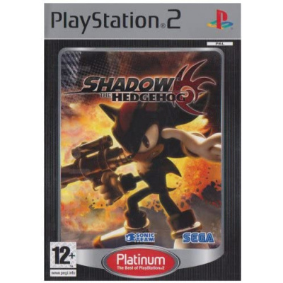 Foto van Shadow The Hedgehog (Platinum) PS2