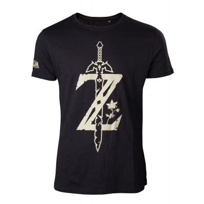 Zelda - T-Shirt Men's Z With Sword (L) MERCHANDISE
