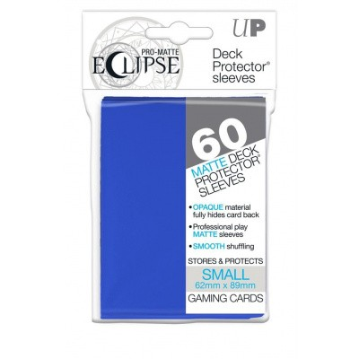 TCG Sleeves Pro-Matte Eclipse - Pacific Blue (60 Sleeves) (Small Size) SLEEVES