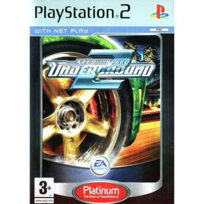Foto van Need For Speed Underground 2 (Platinum) PS2