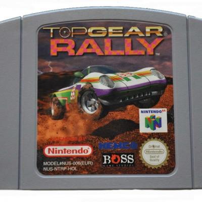 Foto van Top Gear Rally (Losse Cassette)