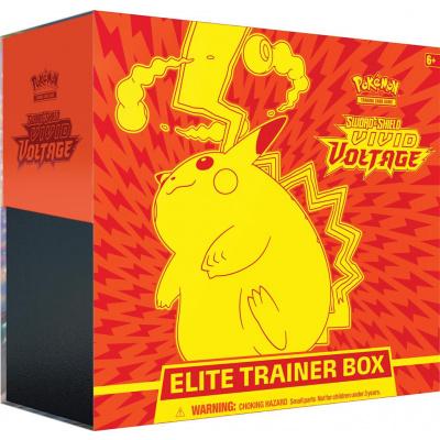 TCG Pokémon Sword & Shield Vivid Voltage Elite Trainer Box POKEMON