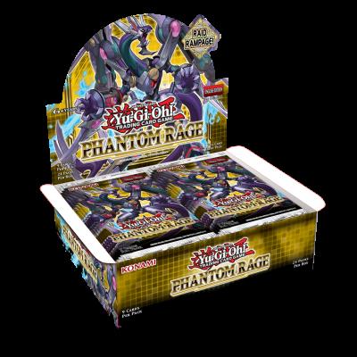 TCG Yu-Gi-Oh! Phantom Rage Booster Box YU-GI-OH