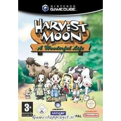 Harvest Moon A Wonderful Life Nintendo GameCube
