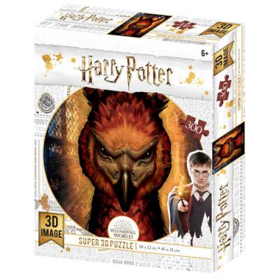 Foto van Harry Potter: Fawkes Prime 3D puzzle 300pcs PUZZEL