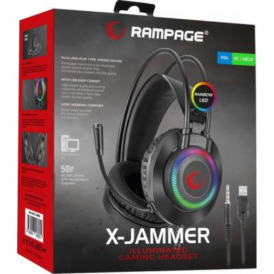 Foto van Rampage RMK27 X-JAMMER Gaming Headset RGB (PS4/Xbox One/Pc) PS4