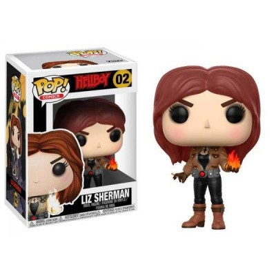 Foto van Pop! Comics: Hellboy - Liz Sherman FUNKO
