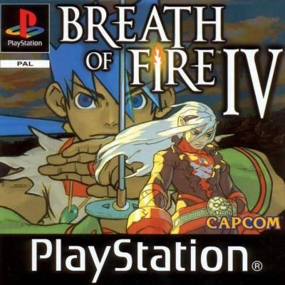 Foto van Breath of fire IV PS1
