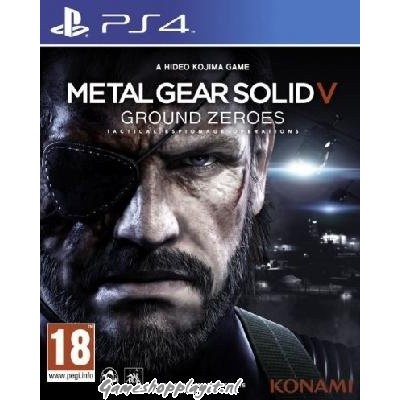 Metal Gear Solid V Ground Zeroes PS4