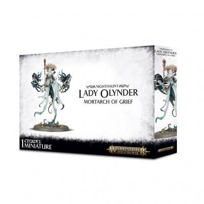 Foto van Nighthaunt Lady Olynder Warhammer Age of Sigmar