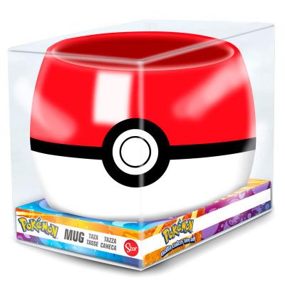Pokémon - Pokéball 3D Mug MERCHANDISE