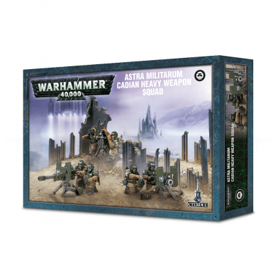 Cadian Heavy Weapons Squad WARHAMMER 40K
