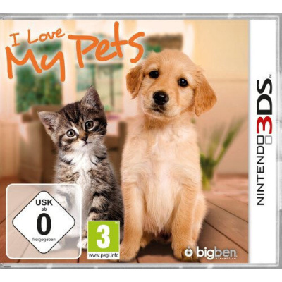 Foto van I Love My Pets (Duitse Cover) 3DS