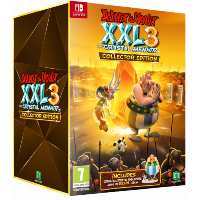 Foto van Asterix & Obelix XXL 3: The Crystal Menhir - Collector's Edition SWITCH