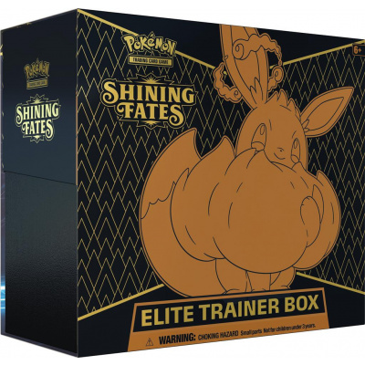 Foto van TCG Pokémon Shining Fates Elite Trainer Box POKEMON
