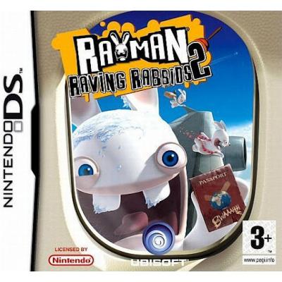 Rayman Raving Rabbids 2 NDS