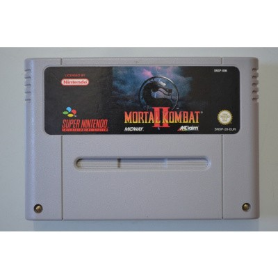 Foto van Mortal Kombat II (Losse Game) SNES