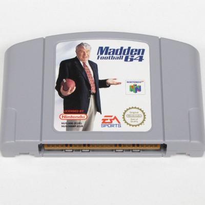 Foto van Madden Football 64 (Losse Cassette) N64