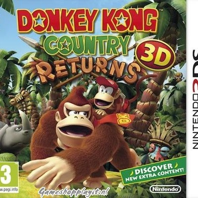 Foto van Donkey Kong Country Returns 3D