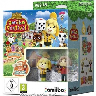 Animal Crossing Amiibo Festival Bundel WII U