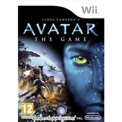 Foto van James Cameron's Avatar The Game WII