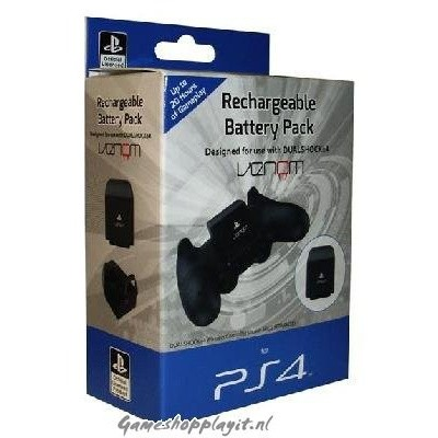 Foto van Venom Rechargeable Battery Pack PS4