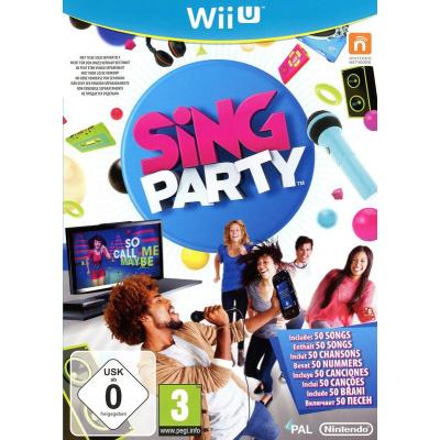 Foto van Sing Party WII U