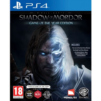 Foto van Shadow Of Mordor Game Of The Year Edition PS4