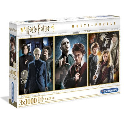 Harry Potter Characters pack 3 puzzles 3x1000pc PUZZEL