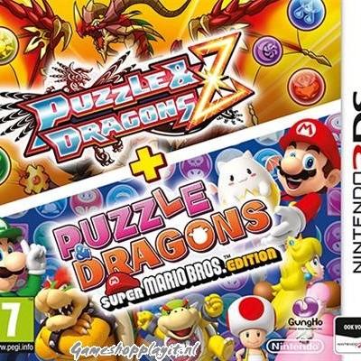 Foto van Puzzle & Dragons Z + Puzzle & Dragons Super Mario Bros. Edition 3DS