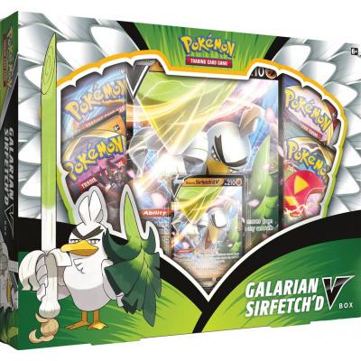 Foto van TCG Pokémon Galarian Sirfetch'd V Box POKEMON