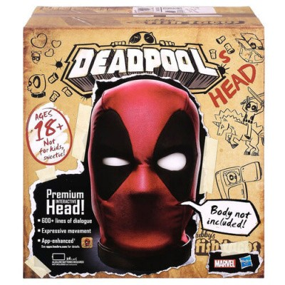 Marvel Legends - English Interactive Electronic Deadpool's Head MERCHANDISE
