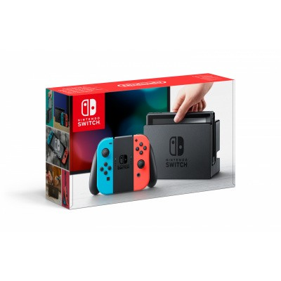 Nintendo Switch Console (Red/Blue) SWITCH
