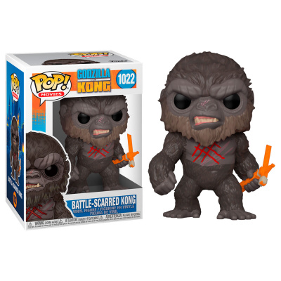 Foto van Pop! Movies: Godzilla vs Kong - Battle Scarred Kong FUNKO